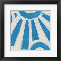 Spectrum Hieroglyph V Framed Print