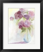 Glowing Bouquet I Framed Print