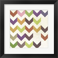 Arrow Pattern I Framed Print
