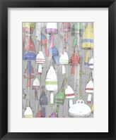 Dockside I Framed Print