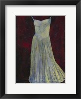 White Dress II Framed Print