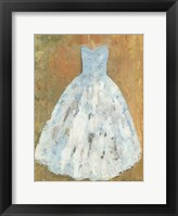 Ballerina Dress I Framed Print