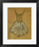 Ballerina Dress II Framed Print