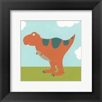 Framed Playtime Dino I
