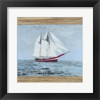Framed Seagrass Nautical I