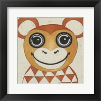 Zoo Portrait I Framed Print