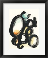 Cellular Structure I Framed Print