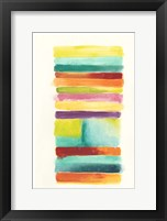 Layer Cake II Framed Print