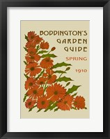 Boddington's Garden Guide II Framed Print