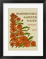 Boddington's Garden Guide II Framed Print