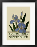 Framed Boddington's Garden Guide IV