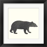 Framed Timber Animals V