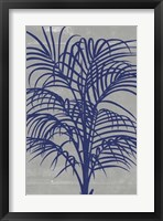 Chromatic Palms I Framed Print