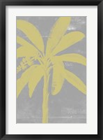 Chromatic Palms III Framed Print