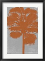 Chromatic Palms IV Framed Print