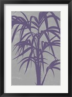 Chromatic Palms V Framed Print