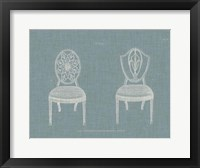 Framed Hepplewhite Chairs I