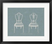 Framed Hepplewhite Chairs II