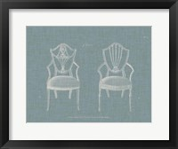 Framed Hepplewhite Chairs III