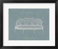 Framed Hepplewhite Sofas I