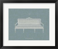 Framed Hepplewhite Sofas II