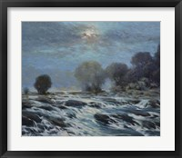 Framed Moon Rapids