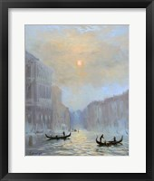 Framed Venice Morning Mist