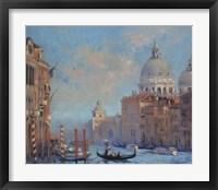 Framed Venice Grand Canal