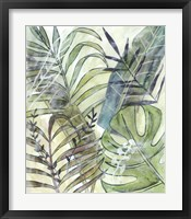 Layered Palms I Framed Print