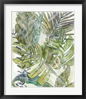 Layered Palms II Framed Print