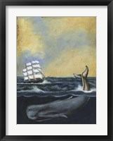 Whaling Stories I Framed Print
