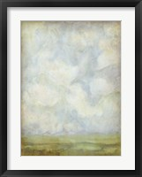 Aged Abstract Landscape I Framed Print