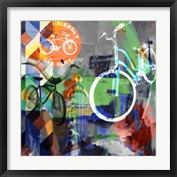 Lakewood Bikes - Dallas Framed Print