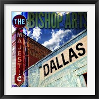 Bishop Art - Dallas Framed Print
