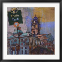 Trinity Trails - Ft. Worth Framed Print
