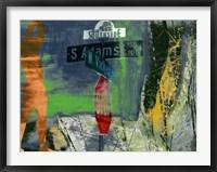 Southside - Ft. Worth Framed Print