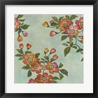 Eastern Blossoms I Framed Print