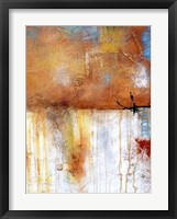 November Rain II Framed Print