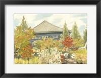 Aquarelle Garden VI Framed Print