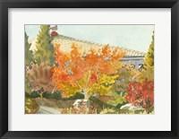 Aquarelle Garden VII Framed Print