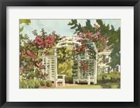 Aquarelle Garden VIII Framed Print