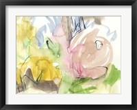 Whimsy in The Garden I Framed Print