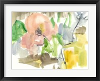 Whimsy in The Garden II Framed Print