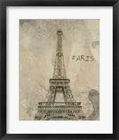 Remembering Paris Framed Print