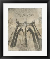 Remembering New York Framed Print