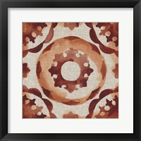 Elemental Tiles III Framed Print
