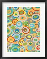 Overlapping Ovals I Framed Print
