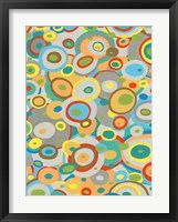 Overlapping Ovals II Framed Print