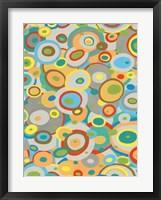 Overlapping Ovals II Framed Print