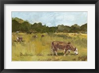 Rural View I Framed Print